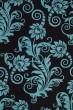 Product Image of Floral / Botanical Brown, Blue (B) Area Rug