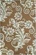 Product Image of Floral / Botanical Light Brown, Blue (C) Area Rug