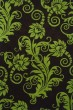 Product Image of Floral / Botanical Brown, Green (D) Area Rug