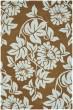 Product Image of Floral / Botanical Light Brown, Blue (B) Area Rug