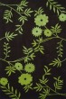 Product Image of Floral / Botanical Brown, Green (A) Area Rug