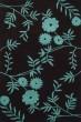 Product Image of Floral / Botanical Brown, Teal (B) Area Rug