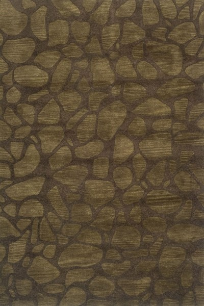 Brown (A) Abstract Area Rug