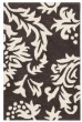 Product Image of Floral / Botanical Brown, Ivory (A) Area Rug