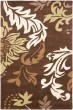Product Image of Floral / Botanical Brown (B) Area Rug