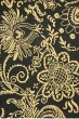 Product Image of Black, Green (A) Floral / Botanical Area Rug