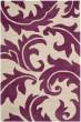 Product Image of Floral / Botanical Purple, Beige (B) Area Rug