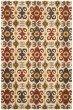 Product Image of Bohemian Ivory, Red (A) Area Rug