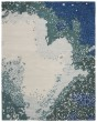 Product Image of Contemporary / Modern Blue (B) Area Rug