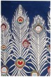 Product Image of Blue, Ivory (A) Transitional Area Rug