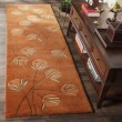 Product Image of Rust (A) Contemporary / Modern Area Rug