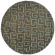 Product Image of Brown, Light Blue (B) Contemporary / Modern Area Rug
