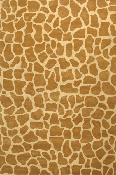Beige, Brown (A) Contemporary / Modern Area Rug