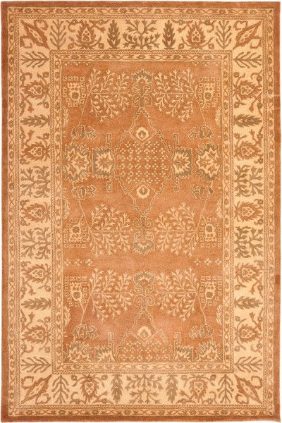 Light Brown, Beige (A) Traditional / Oriental Area Rug