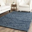 Product Image of Dark Blue (G) Rustic / Farmhouse Area Rug
