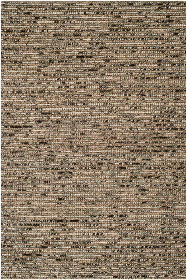 Blue (A) Rustic / Farmhouse Area Rug