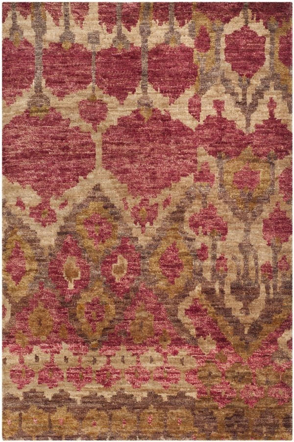 Natural, Gold (A) Transitional Area Rug