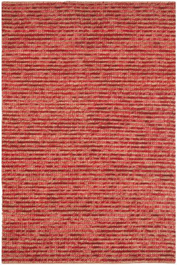 Red (B) Rustic / Farmhouse Area Rug