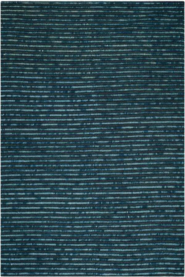 Dark Blue (G) Rustic / Farmhouse Area Rug