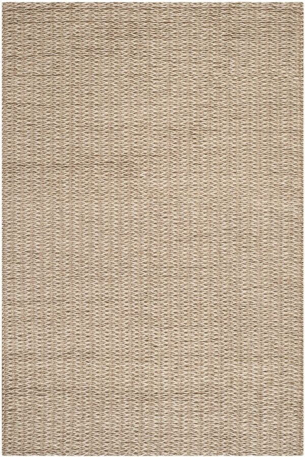 Beige, Brown (A) Casual Area Rug