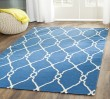 Product Image of Dark Blue, Ivory (A) Transitional Area Rug