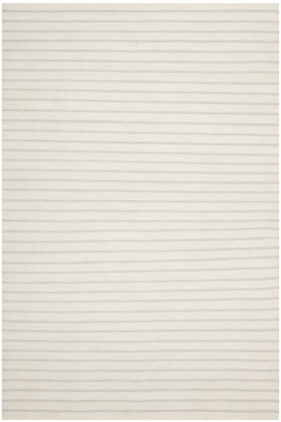 White (D) Striped Area Rug