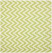Product Image of Green, Ivory (A) Chevron Area Rug