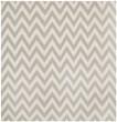 Product Image of Grey, Ivory (C) Chevron Area Rug