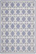 Product Image of Purple, Ivory (B) Transitional Area Rug