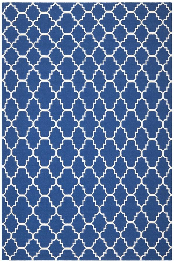 Dark Blue (A) Moroccan Area Rug