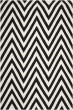 Product Image of Chevron Black, Ivory (C) Area Rug