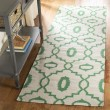 Product Image of Ivory, Green (B) Moroccan Area Rug