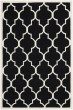 Product Image of Contemporary / Modern Black, Ivory (A) Area Rug