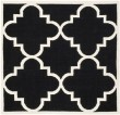 Product Image of Black, Ivory (A) Moroccan Area Rug