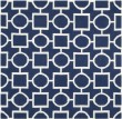 Product Image of Navy, Ivory (D) Transitional Area Rug
