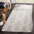 Product Image of Grey, Ivory (G) Moroccan Area Rug