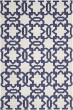 Product Image of Moroccan Ivory, Purple (B) Area Rug