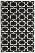 Product Image of Transitional Black, Ivory (L) Area Rug