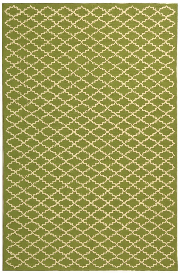 Olive, Ivory (A) Moroccan Area Rug
