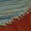 Product Image of Blue (A) Rustic / Farmhouse Area Rug