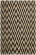 Product Image of Chevron Black, Natural (A) Area Rug