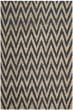 Product Image of Chevron Blue, Natural (B) Area Rug