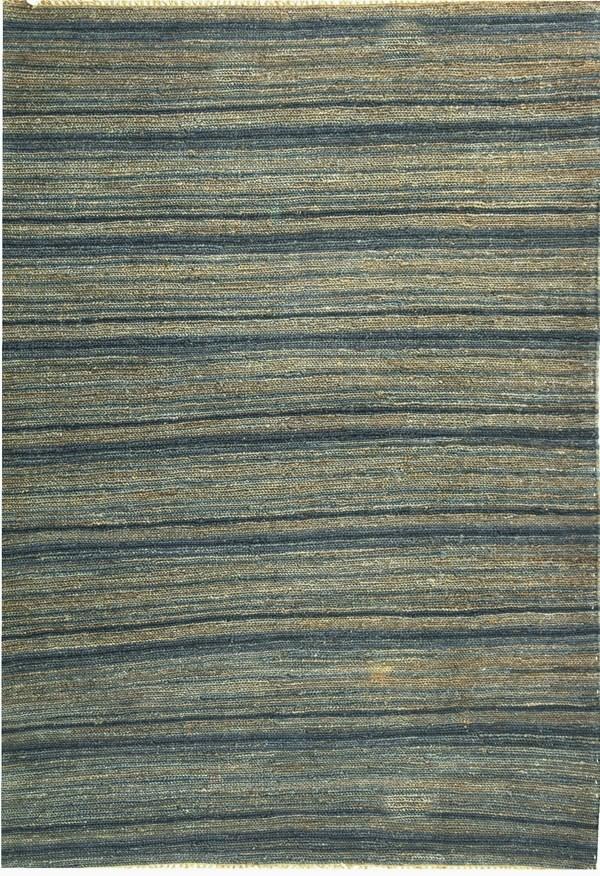 Blue (A) Rustic / Farmhouse Area Rug