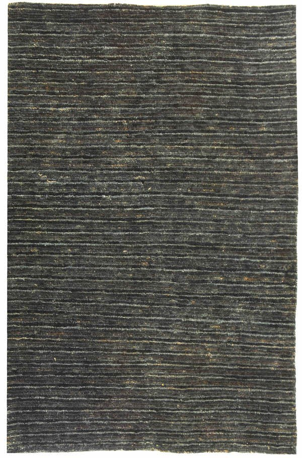 Charcoal, Charcoal (A) Natural Fiber Area Rug