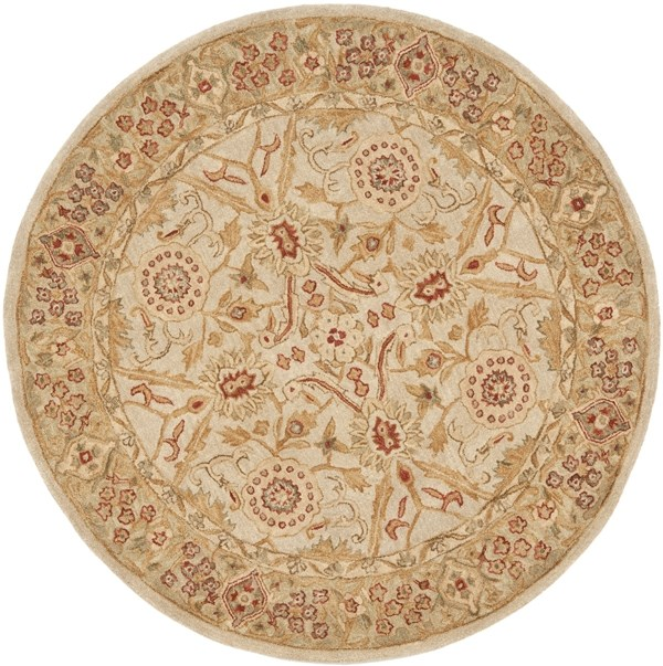 Ivory, Sage (B) Traditional / Oriental Area Rug