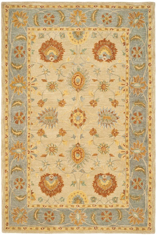 Taupe, Grey (A) Traditional / Oriental Area Rug