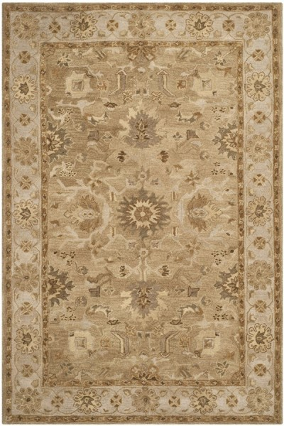Tan, Ivory (F) Traditional / Oriental Area Rug
