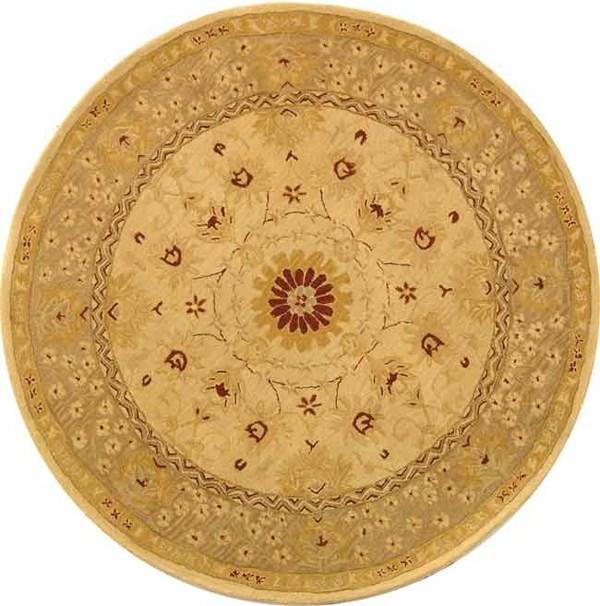 Sand, Walnut (A) Traditional / Oriental Area Rug