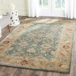 Product Image of Teal Blue, Taupe (B) Traditional / Oriental Area Rug
