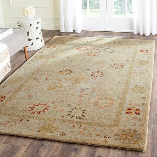 Taupe, Beige (B) Traditional / Oriental Area Rug